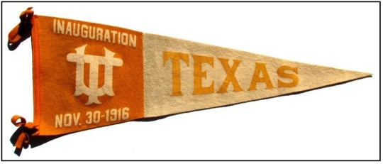 1916 Inauguration Pennant
