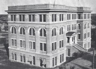 1913 Cactus Yearbook.Engineering Building.