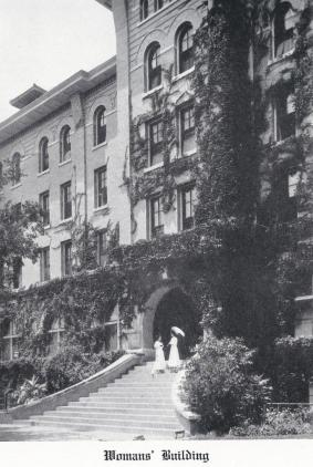 1913 Cactus Yearbook.Womans Building.