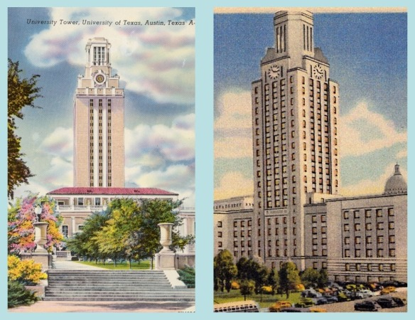 UT Tower and Camden City Hall