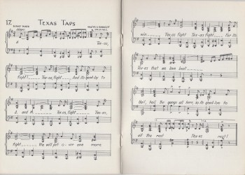 Songs of the 40 Acres.Texas Taps.