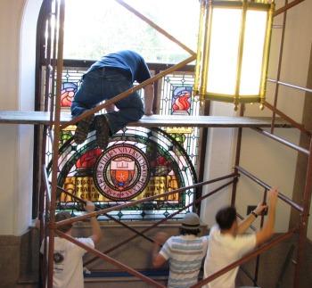 6.Ashbel Smith Window.Installation.Summer 2008