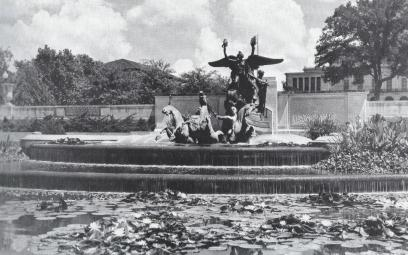 Littlefield Fountain 1940