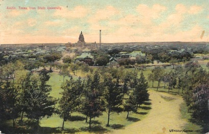 Texas Capitol from Old Main.1914.