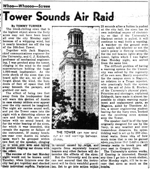 DT.Nov 17 1942.Tower Air Riad Siren Test.