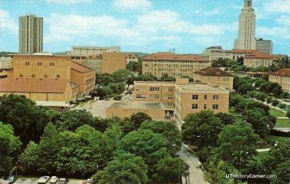Campus View from Bellmont Hall.1970s.