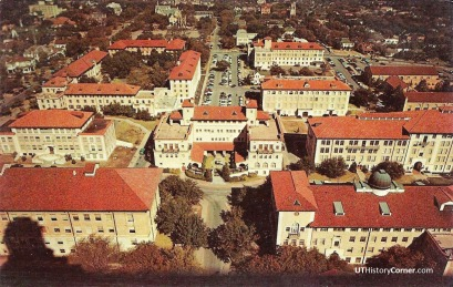 North View from UT Tower.1960.