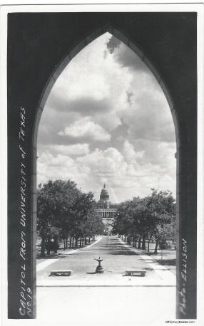 Old Main Front Doorway.1910s