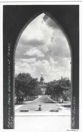 Old Main Front Doorway.1910s
