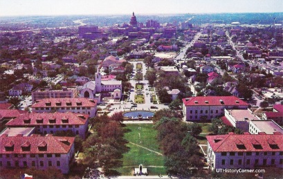 South View from UT Tower.1960