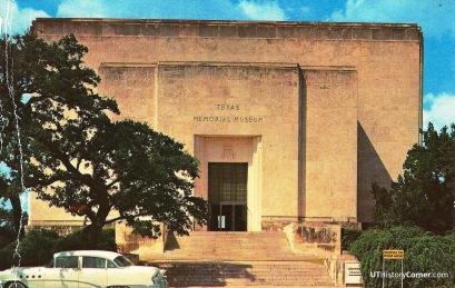 Texas Memorial Museum.1950s.