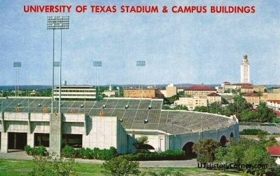 UT Stadium and Campus.1960s.
