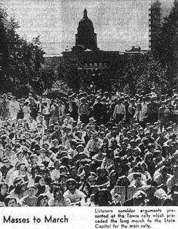 UT Moratorium Protest.Oct 15 1969