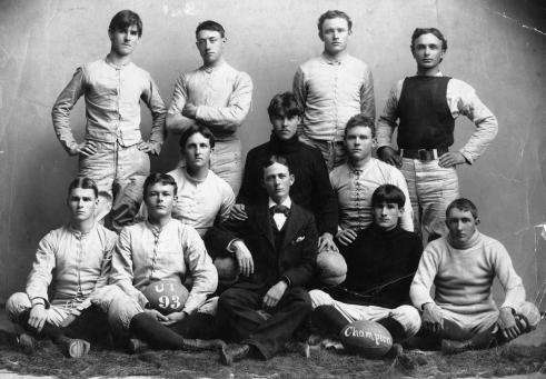1893 UT Football Team.Portal to Texas History