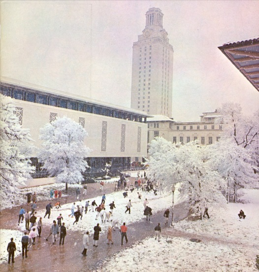 1963.West Mall Snowball Fight