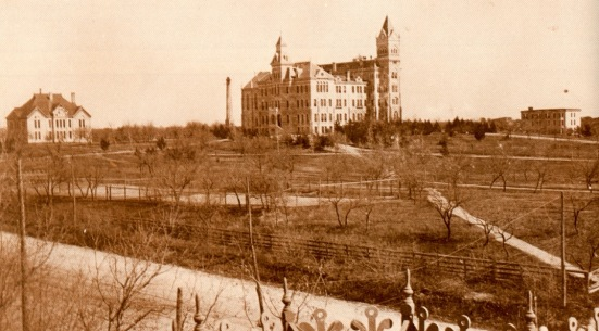 UT Campus in the 1890s