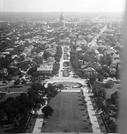 UT Tower Deck.South View.1936