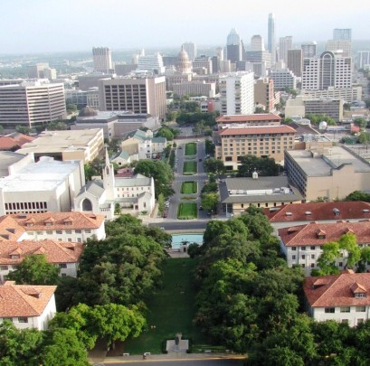 UT Tower Deck.South View 2012