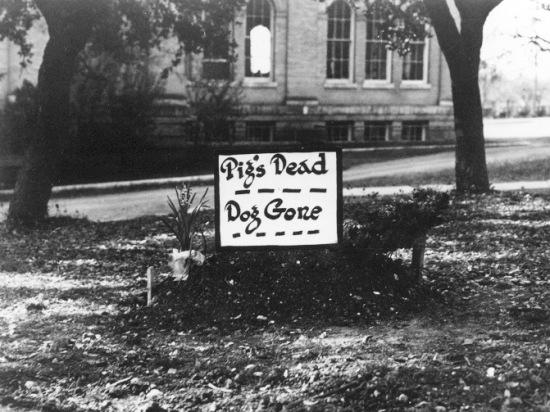 Pig Bellmont.Funeral Marker.Jan 5 1923