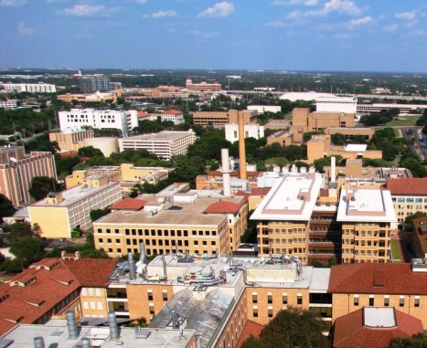 UT Tower View.Northeast.2013