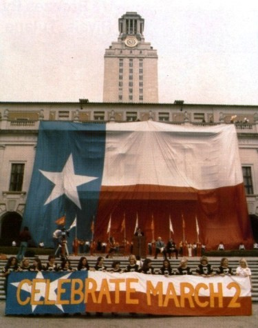 Texas Independence Day.March 2 1981