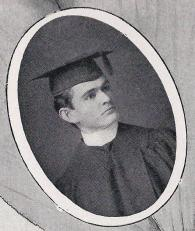 Joseph Johnson.1902 Cactus Yearbook