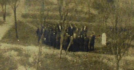 George Town Funeral.1905.Close up.