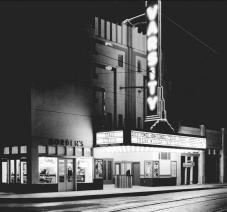 Varsity Theater.Night