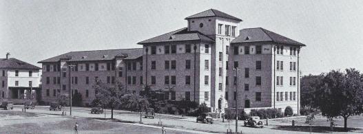 Brackenridge Dorm.1930s. Processed