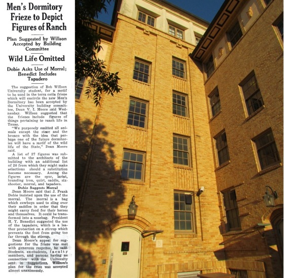 Brackenridge Hall.Daily Texan Article