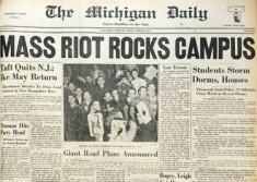 1952 Michigan Daily. Panty Raid