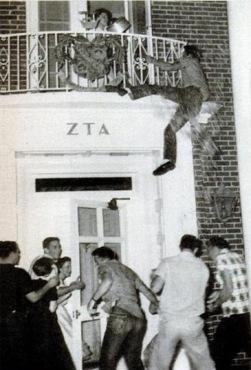1956 SMU Panty Raid.