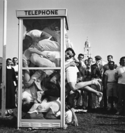 Phone Booth Stuffing