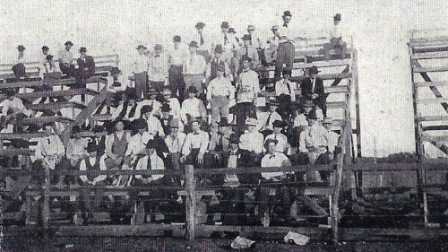1907.Bleachers.Second Year Law Students.