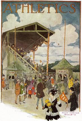 Clark Field Entrance.1916.