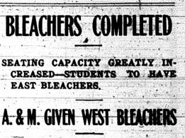 DT.Bleachers Completed.Headline