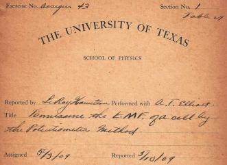 1909 Physics Lab Cover.Close up.