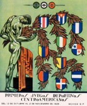1926 Central American Games Logo