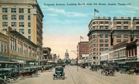 Austin.Congress Avenue.1920s