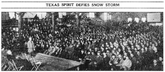 Feb 25 1924.Stadium Kickoff Rally