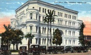 San Antonio City Hall.1920s
