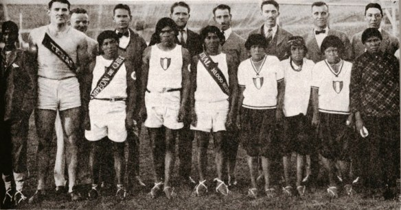 Tarahumara Runners at 1927 Relays