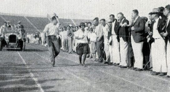 Tarahumara Women Marathon Finisher.1927