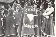 Texas Longhorn Blankets 1915