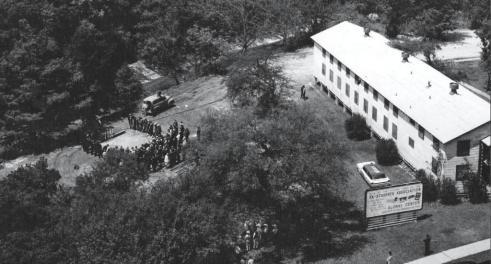 1963.Alumni Center Groundbreaking.Edited