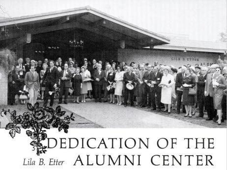 Alumni Center Dedication.1965.04.03