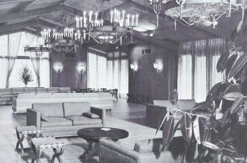 Alumni Center.Main Lounge.1965