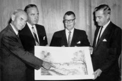 Alumni House First Rendidtion.August 1962