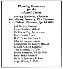 Alumni House Planning Committee