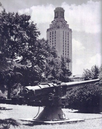 WW II. Littlefield Home as NROTC Headquarters